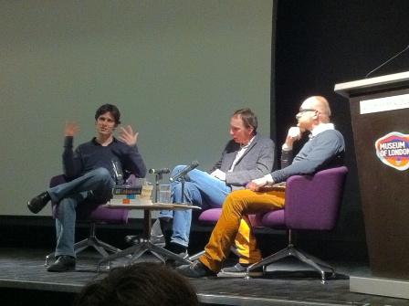 Hugo Spiers, Will Self, Sebastian Groes
